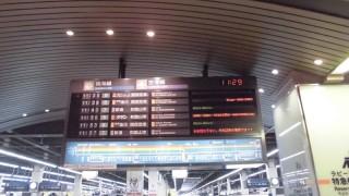 ついに姿を消してしまった南海なんば駅・南海線ホームの大パタパタ式発車案内板