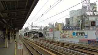 ついに「ノ」が取れるかもしれないJR三ノ宮駅から見える阪急神戸三宮駅