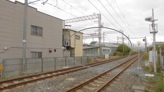 京阪鳥羽街道駅の真横を走りながら駅が存在しないJR奈良線(103系走行動画付き)