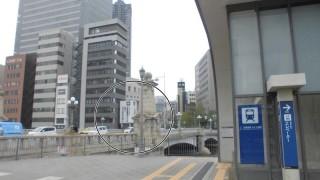 別の駅にしてはあまりに近くにあり過ぎる京阪北浜駅となにわ橋駅[大阪市中央区・北区]