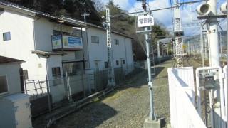 京阪八幡市駅・廃止された4番線ホーム