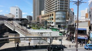 JR高槻駅北停[高槻市営バス](大阪府高槻市)~再開発により変貌を遂げた市営バス一色の大ターミナル~