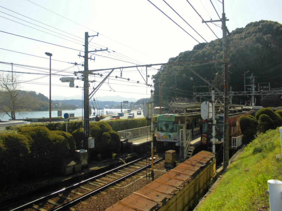 石山寺駅[京阪](滋賀県大津市)