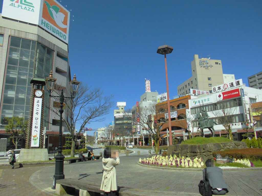彦根駅[JR西日本](滋賀県彦根市)~隣接する近江鉄道の大車両 ...