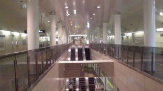 コスモスクエア駅[大阪地下鉄](大阪市住之江区)~当初三セクとして開業し、利用低迷から地下鉄に統合された経緯を持つ、テクノポート大阪計画の中核駅~