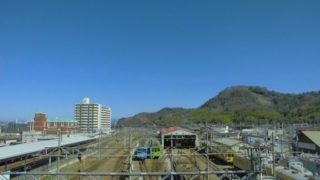 彦根駅[近江鉄道](滋賀県彦根市)~滋賀県最古の私鉄の発祥の地に位置し、往年の名車が保存された大車両基地が魅力的な近江鉄道の中核駅~