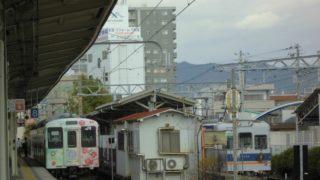 和歌山駅[和歌山電鐵](和歌山県和歌山市)~地方鉄道再生のモデルケースとして注目される、「岡山」の事業体が運営する「和歌山」電鐵の終着駅~