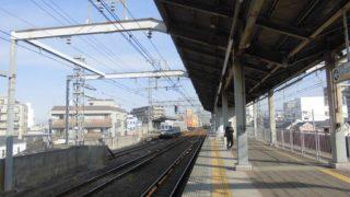 岸里玉出駅[南海](大阪市西成区)~優等無停車の駅ながら、3線が集結した独特の駅構造とちょっとした秘境感が魅力的な「天下茶屋」の最寄駅~