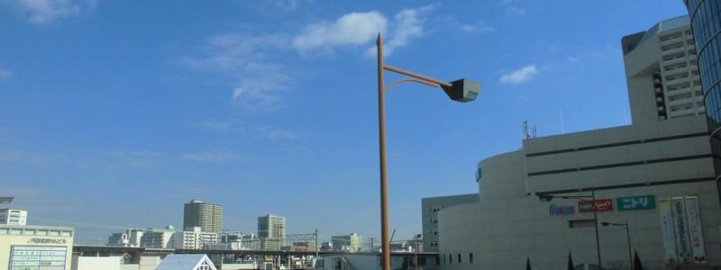 西宮駅[JR西日本](兵庫県西宮市)~西宮の地に最初に開業するも、130年以上に渡り「ノ」付きを余儀なくされた、複々線の眺望が魅力の快速停車駅~