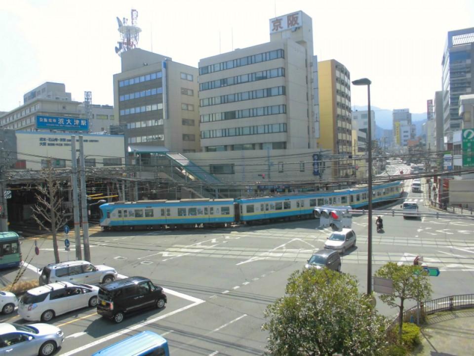 浜大津駅[京阪](滋賀県大津市)