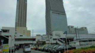 弁天町駅[JR西日本](大阪市港区)~日本一高い地下鉄の駅の下を潜り、美しい高層ホテルと意味深な地下道が混在する独特の雰囲気を醸し出す駅~
