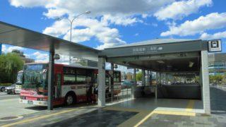 三条京阪前停[京都市バス・京阪・京都バス](京都市東山区)~京都市内有数の規模を誇り、ターミナル機能を依然保ち続ける大バスターミナル~