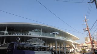 JR茨木東口停[近鉄・京阪バス](大阪府茨木市)~駅前再開発によって大変貌を遂げた新顔のバスターミナル~