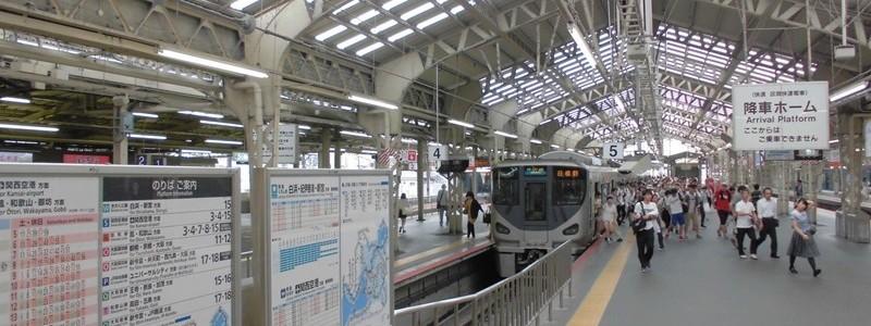 天王寺駅[JR西日本](大阪市天王寺区)~JRの駅なのに私鉄駅の雰囲気満載の頭端式ホームを備える、JR西日本第三位の利用客を誇る大ターミナル駅~